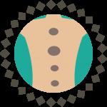 hot stone icon