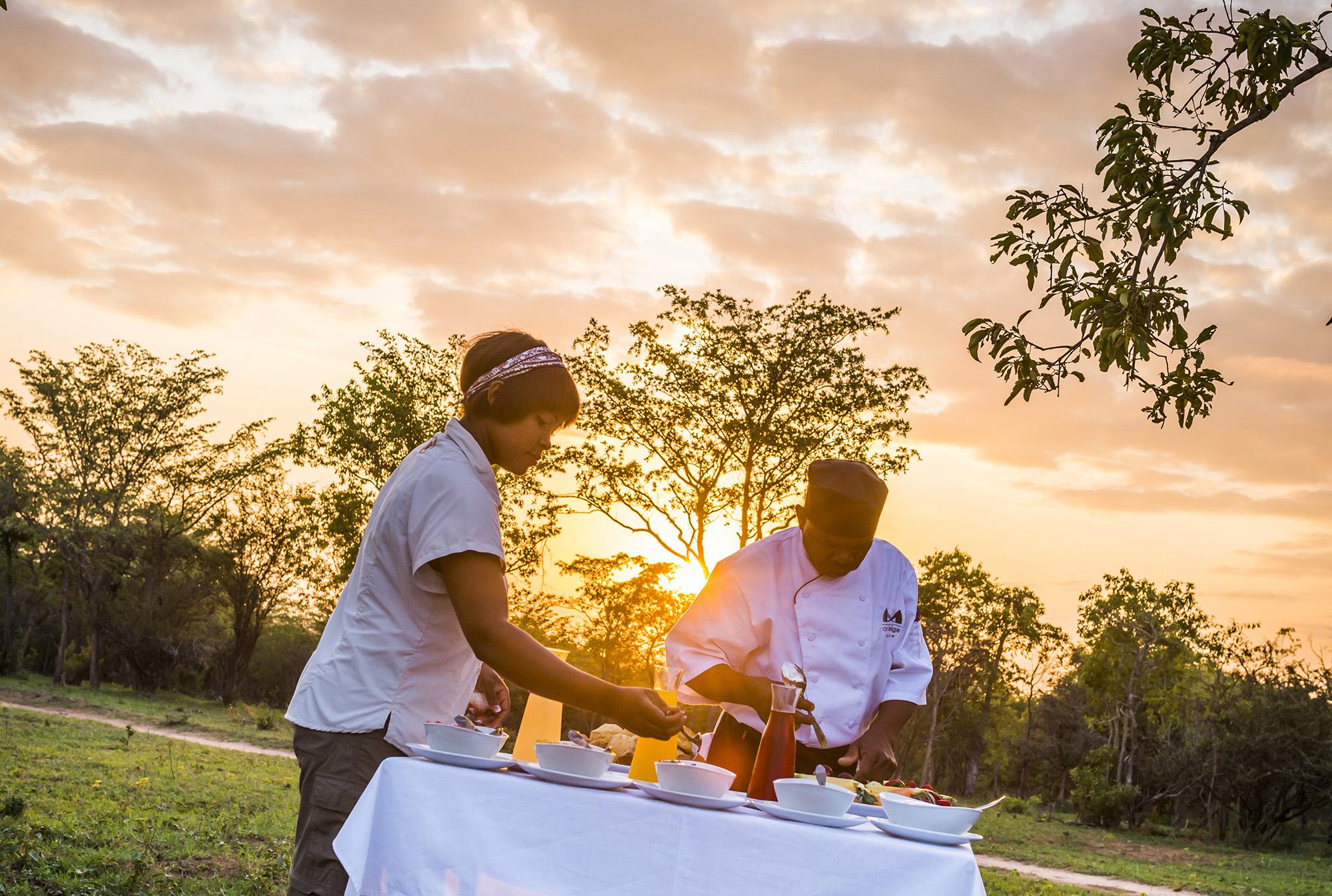 Outdoor chefs