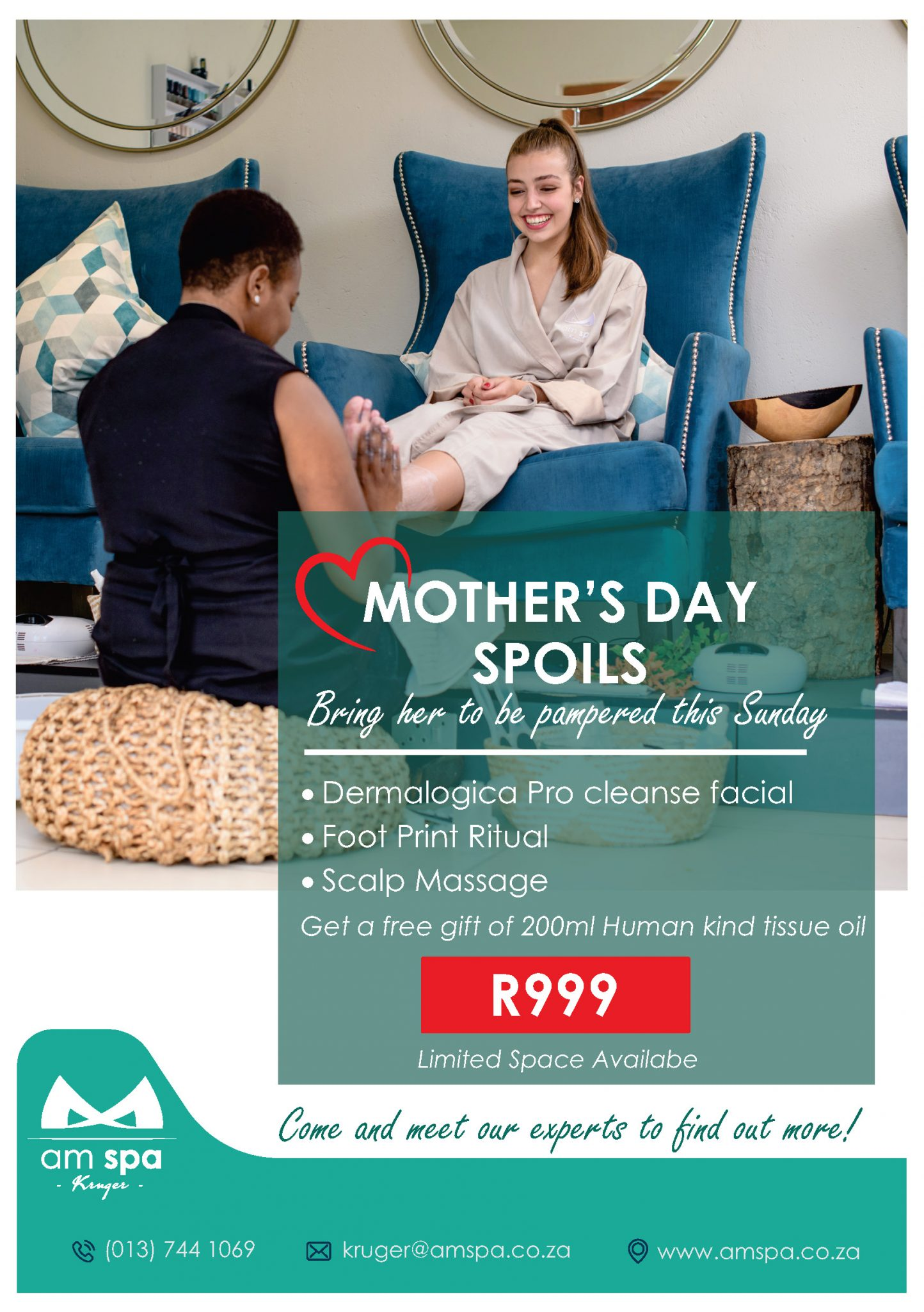 Mothers Day Promo for Hoedspruit